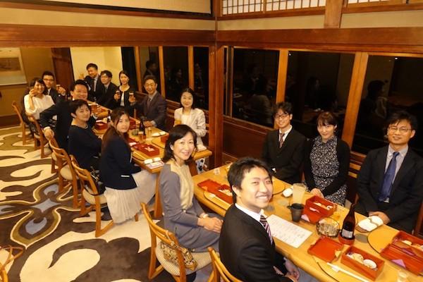 創立9周年記念食事会