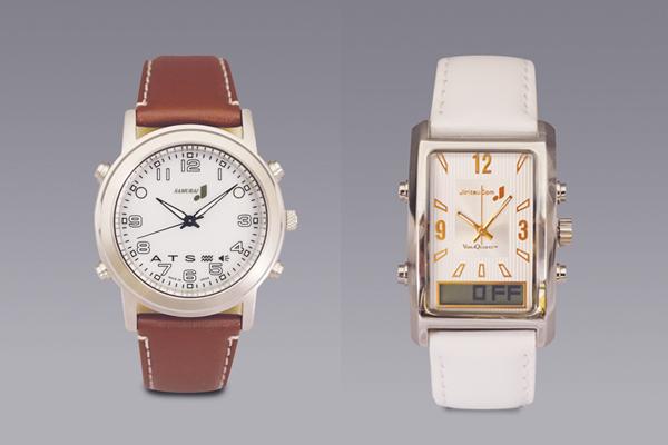 振動腕時計