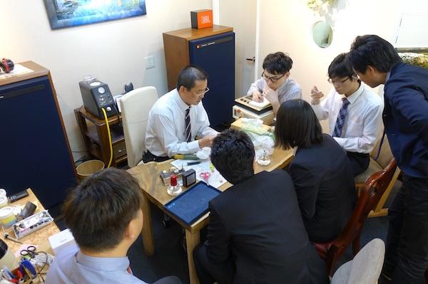 補聴器シェルトリミング勉強会