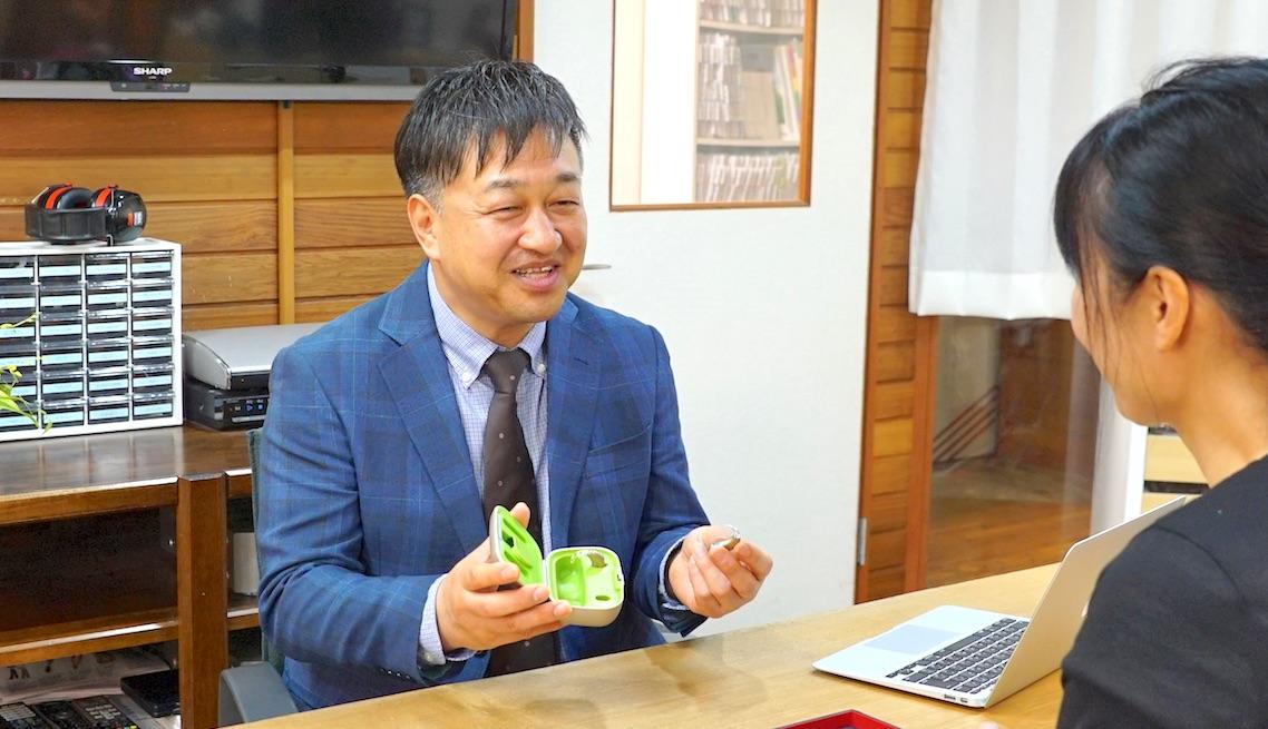 池田補聴器専門店店長 小切間邦泰