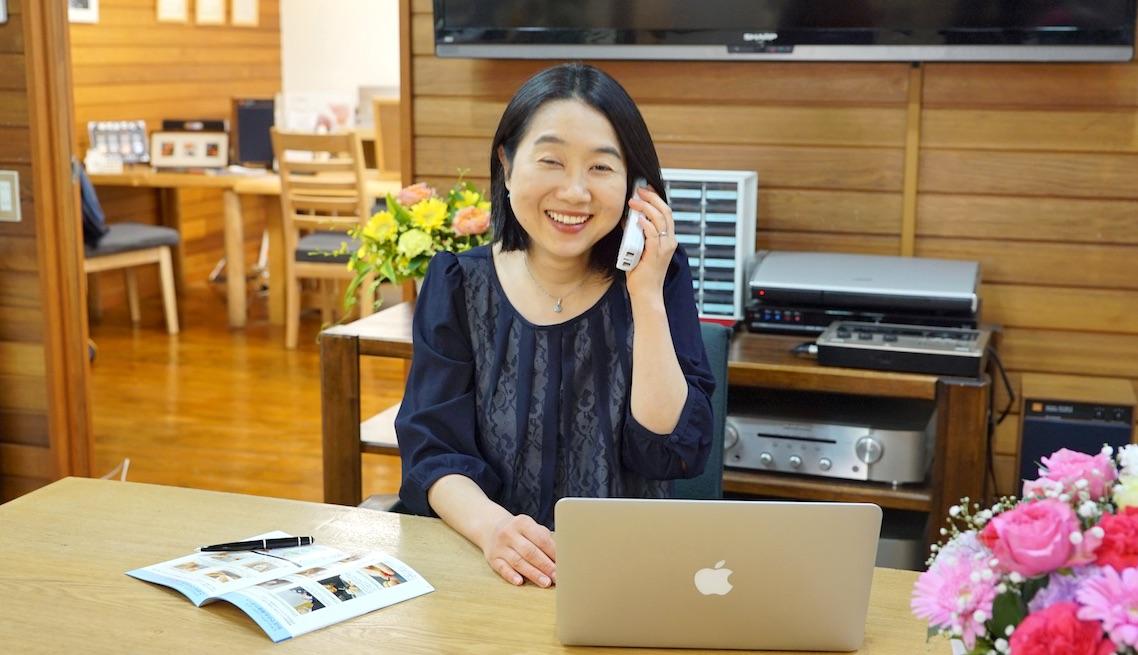 池田補聴器専門店アドバイザー 田中恭子